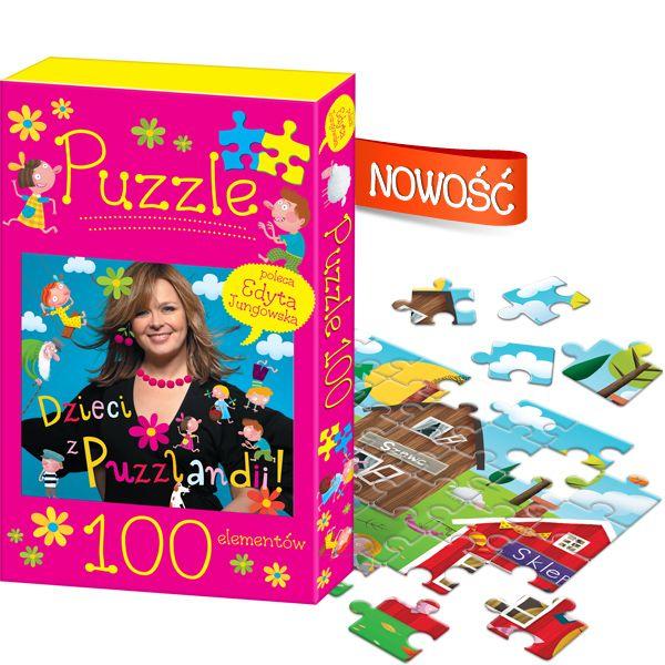 Dzieci z Puzzlandii - Puzzle 100